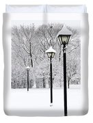 Winter Park Duvet Cover