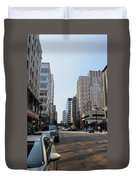 Wisconsin Ave 1 Duvet Cover