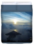 Wizard Sunrise Duvet Cover