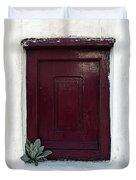Wooden Window Duvet Cover