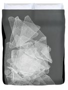 X-ray Of A Bag Of Corn Chips Duvet Cover