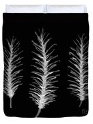 X-ray Of Pine Cones Duvet Cover