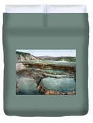 Yellowstone: Hot Spring Duvet Cover