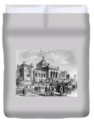 Centennial Fair, 1876 Duvet Cover
