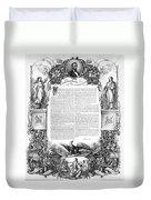 Emancipation Proclamation Duvet Cover
