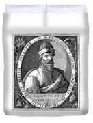 Francisco Pizarro Duvet Cover