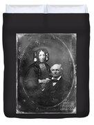 Harriet Beecher Stowe Duvet Cover