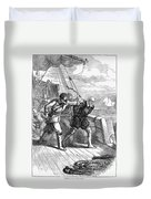 Henry Hudson (d. 1611) Duvet Cover