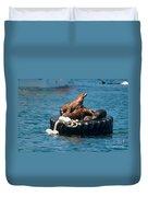 Monterey Harbour Duvet Cover
