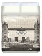Tower Bridge Art Duvet Cover