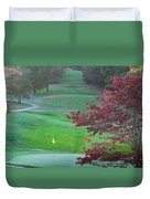 11th Hole At Clarksville C C Duvet Cover