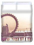 London Eye Art Duvet Cover