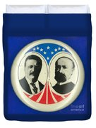 Presidential Campaign: 1904 Duvet Cover