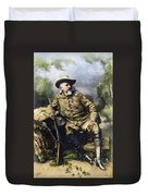 William F. Cody (1846-1917) Duvet Cover