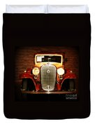 12v Collector Car Duvet Cover by Susanne Van Hulst