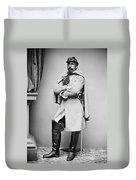 Civil War: Union Soldier Duvet Cover