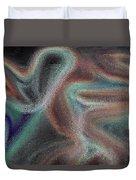 Digital Art Abstract Duvet Cover