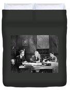Film Still: Telephones Duvet Cover