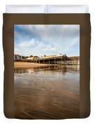 Hastings Pier Duvet Cover
