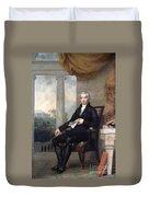 James Monroe (1758-1831) Duvet Cover