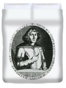 Nicolaus Copernicus, Polish Astronomer Duvet Cover by Science Source