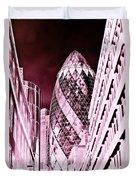 The Gherkin London Duvet Cover