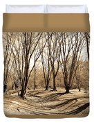 Ambresbury Banks Bronze Age Fortification Duvet Cover