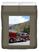 Barnett Fire  Duvet Cover