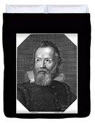 Galileo Galilei (1564-1642) Duvet Cover