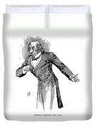 Benjamin Disraeli (1804-1881) Duvet Cover