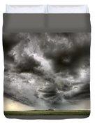 Storm Clouds Saskatchewan Duvet Cover
