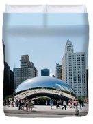 Chicago City Scenes Duvet Cover
