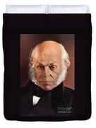 John Quincy Adams Duvet Cover