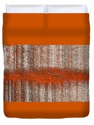 Color Rust Duvet Cover