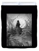 Coleridge: Ancient Mariner Duvet Cover
