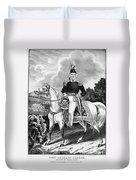Zachary Taylor (1784-1850) Duvet Cover