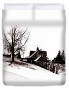 1900 Farm Home Duvet Cover