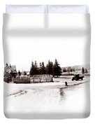 1900 Farm Duvet Cover