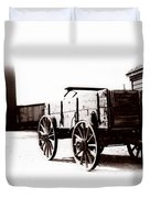 1900 Wagon Duvet Cover