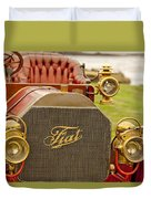 1905 Fiat 60hp Quimby Touring Duvet Cover