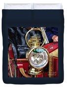 1907 Stanley Steamer - Lantern Duvet Cover by Kaye Menner