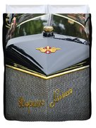 1912 Hispano-suiza 15-45 Hp Alfonso Xiii Jaquot Torpedo Grille Duvet Cover