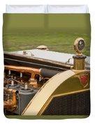 1912 Mercer Model 35 C Raceabout Engine And Motometer Duvet Cover