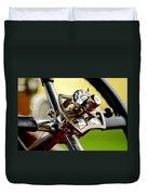 1914 Rolls-royce Silver Ghost Controls Duvet Cover