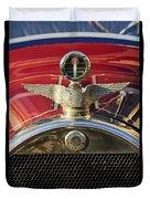 1915 Brewster-knight Model 41 Landaulet Hood Ornament 2 Duvet Cover