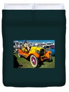 1915 Speedster Duvet Cover