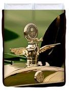 1919 Mcfarlan Type 125 Touring Motometer - Hood Ornament Duvet Cover
