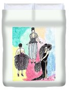 1920s Gals 4 Duvet Cover