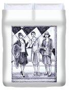 1920s Styles Duvet Cover
