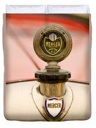 1921 Mercer Series 5 Raceabout Motometer Duvet Cover
